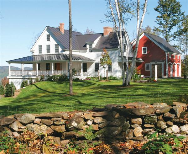 South woodstock vt residence residential architect for Building a house in vermont
