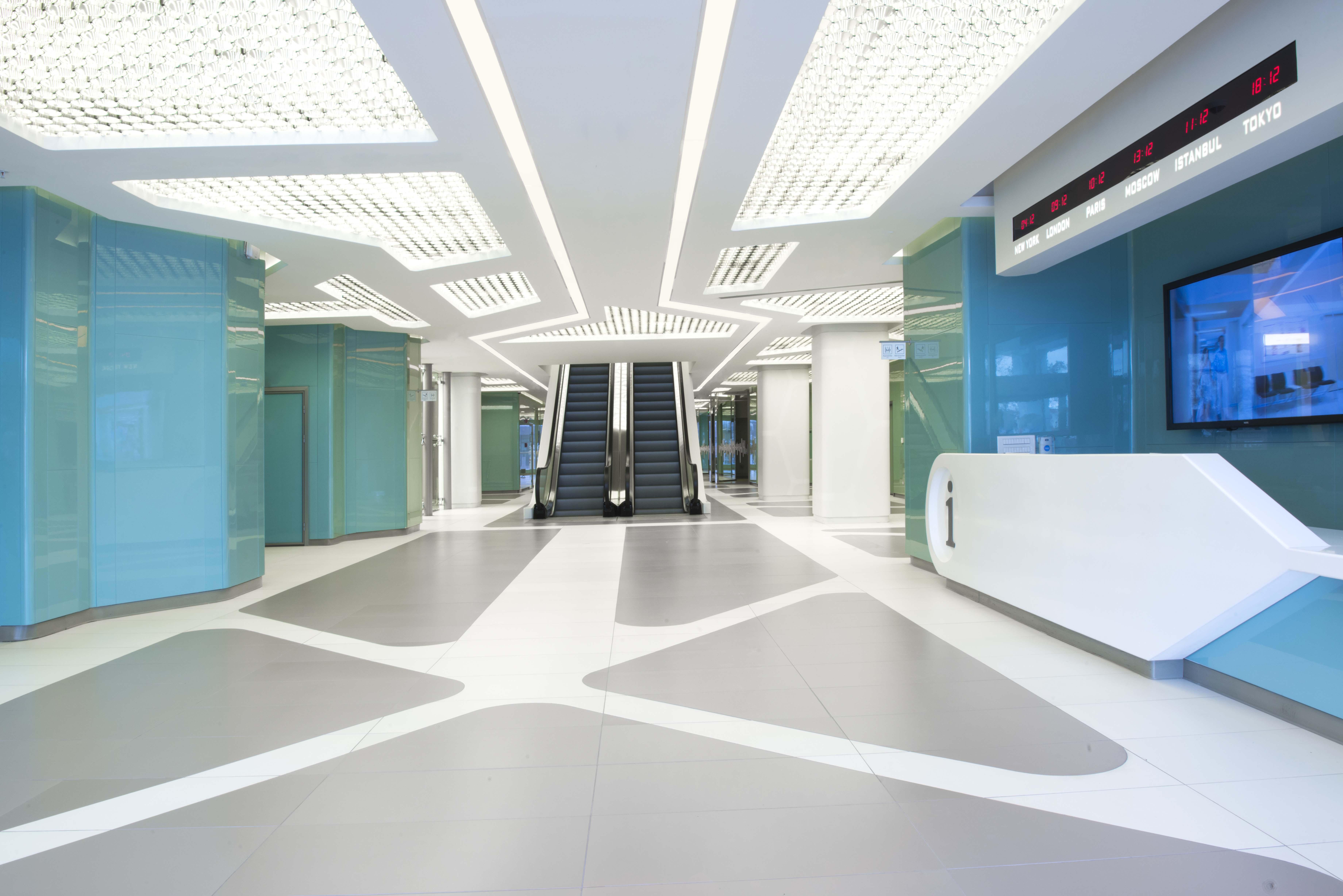 Memorial Hospital Ankara Architect Magazine Zoom Tpu Architectural Design Project