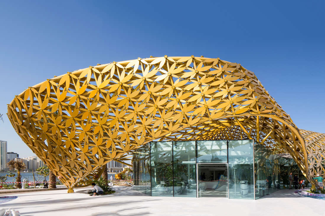 Butterfly Pavilion | Architect Magazine | 3deluxe, Sharjah, United Arab Emirates, Cultural ...