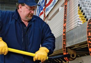 Cargo Trailer Accessories >> Flatbed tie-down systems and regulations| Public Works ...