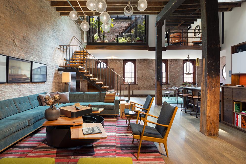 Architectural Interiors Tribeca Loft