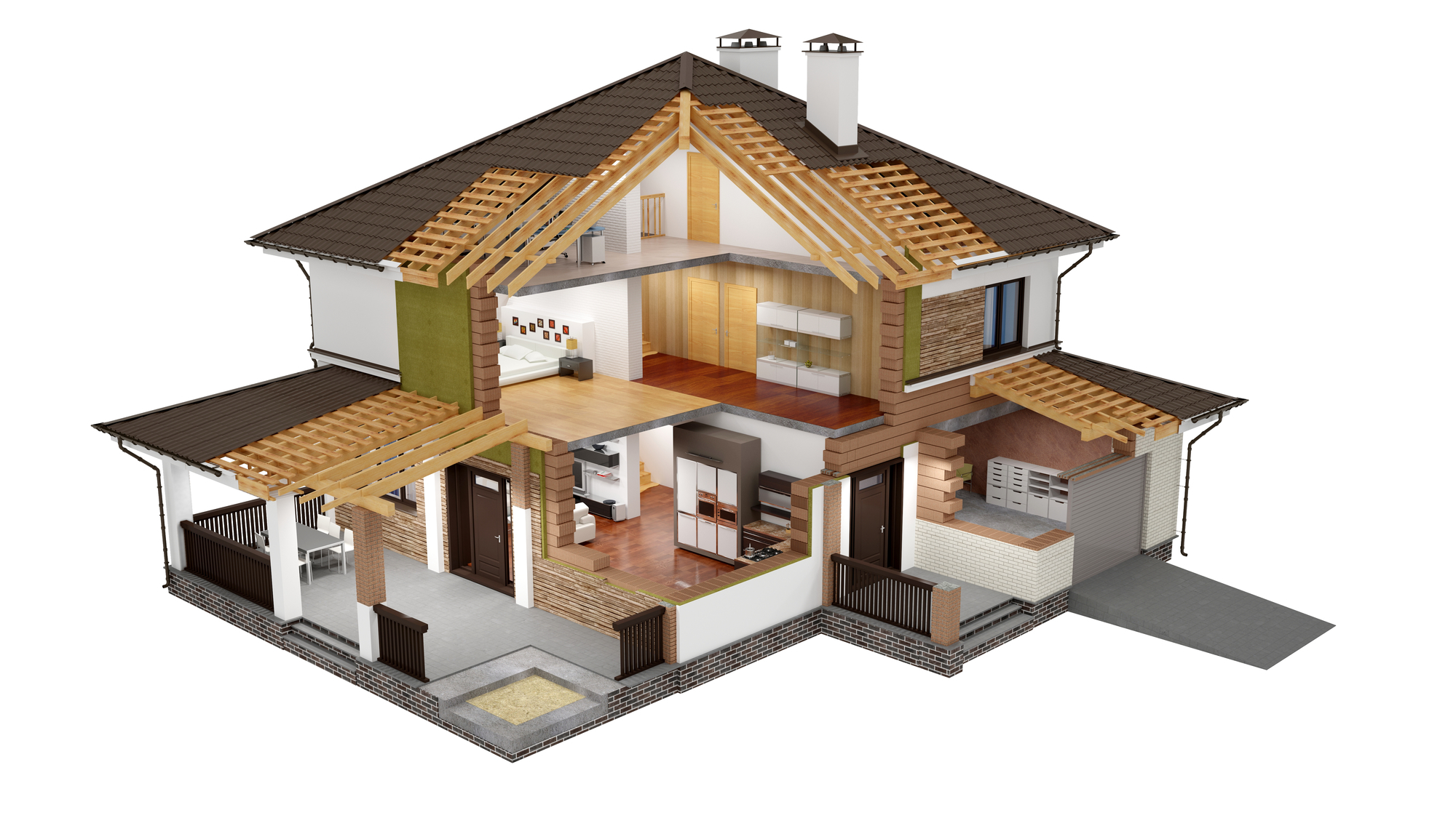 Attaching deck to house building science - Tell Me About My House