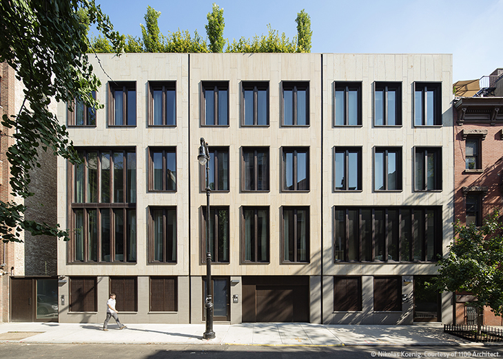 Downing street townhouses architect magazine 1100 for Modern townhouse architecture