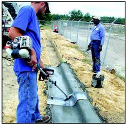 Dot Curb Trowels Concrete Construction Magazine