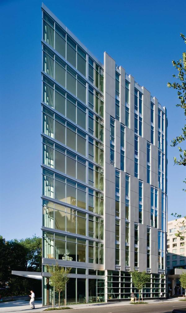 22 west condominiums residential architect shalom for Residential architect design awards