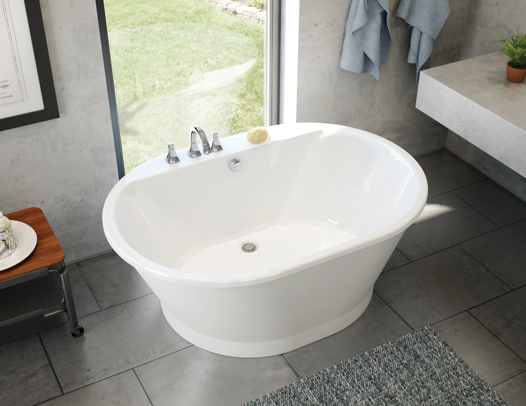 Maax professional introduces affordable brioso tub jlc for Affordable baths
