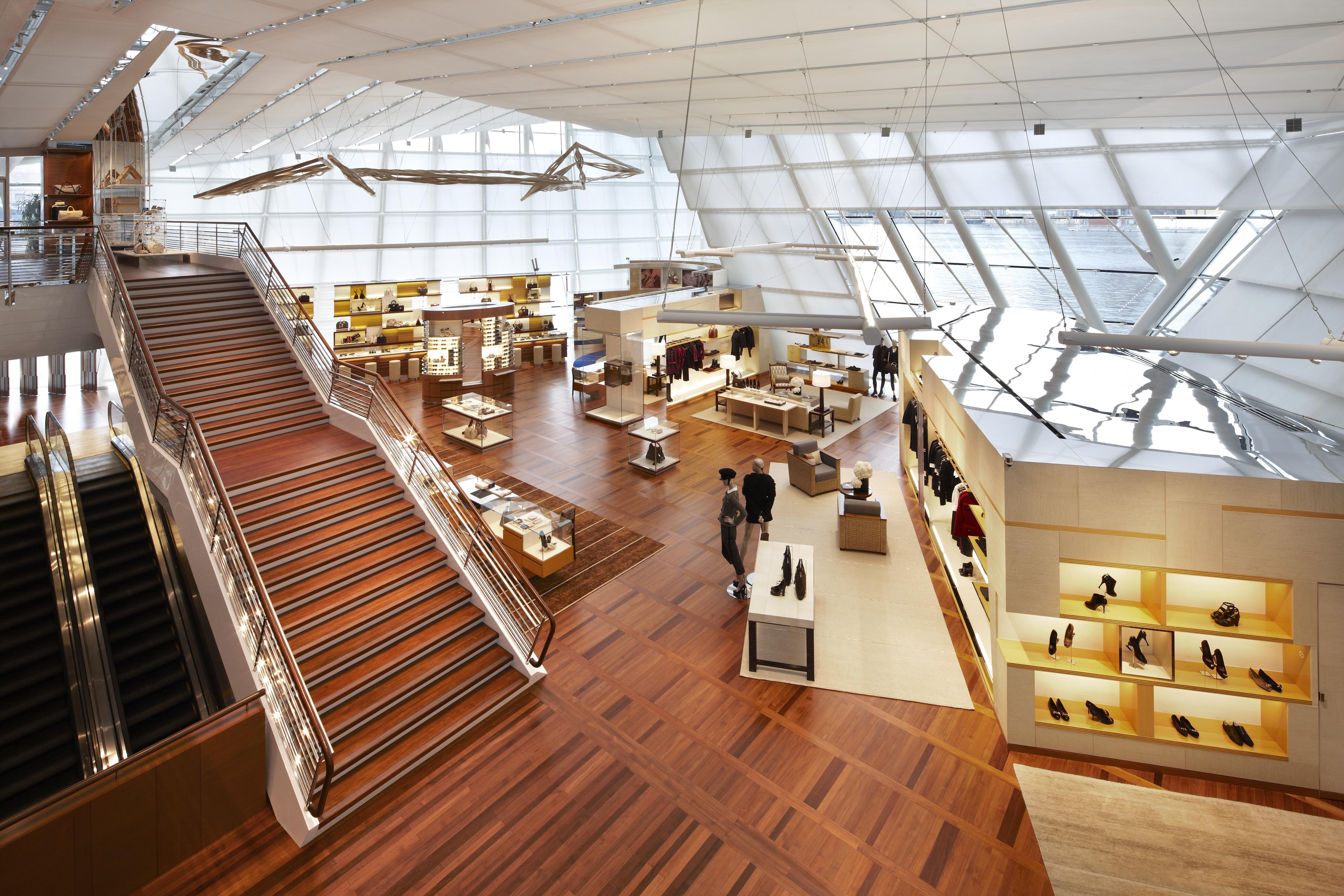 Louis Vuitton Flagship Store Architect Magazine Peter