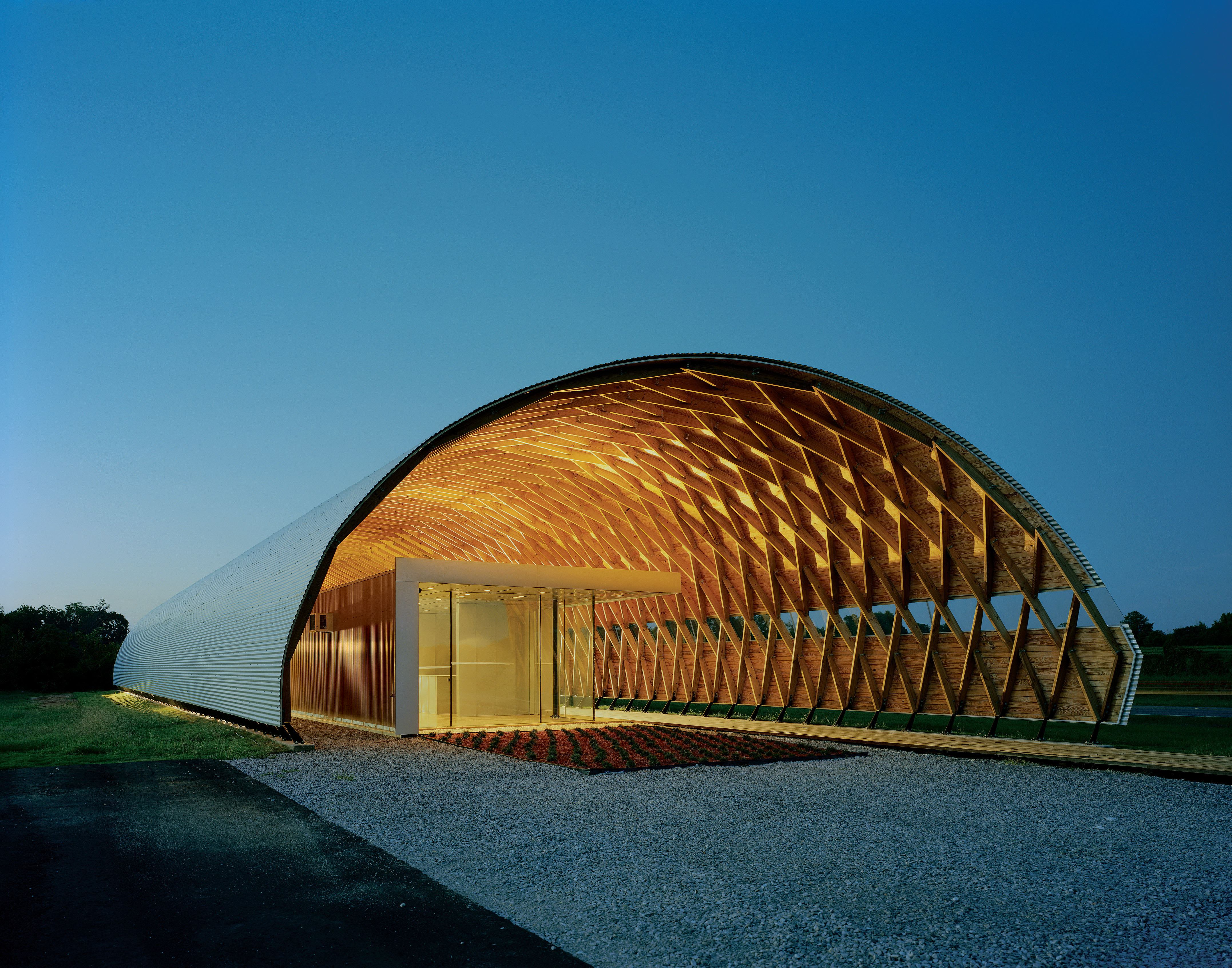 The new rural studio architect magazine design build community projects education for Architecture hangar