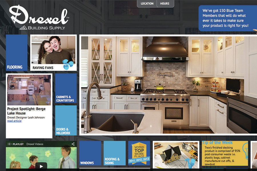 Award Winning Website Attracts Customers And Contractors
