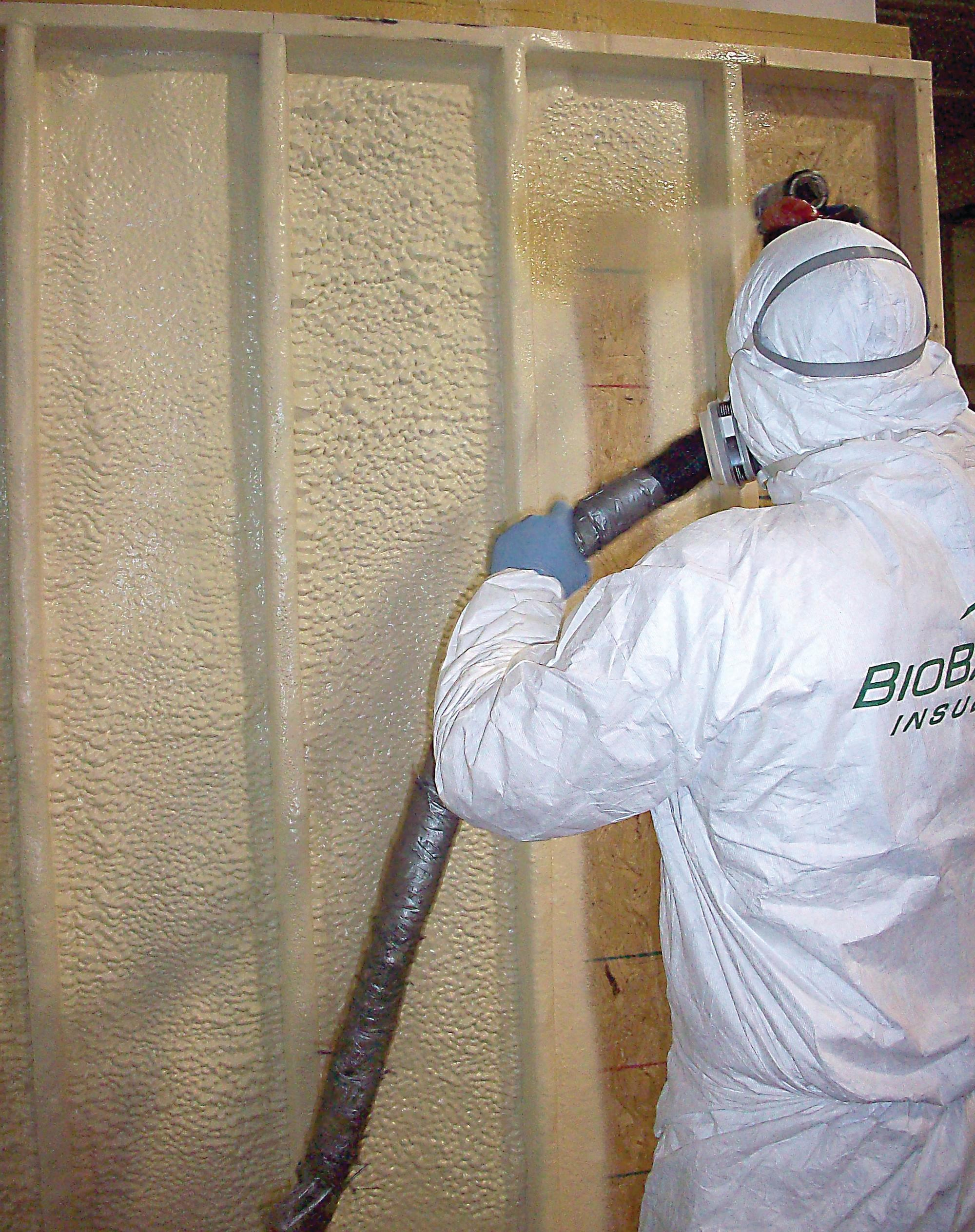 Soy Based Spray Foam Insulation From Biobased Ecobuilding