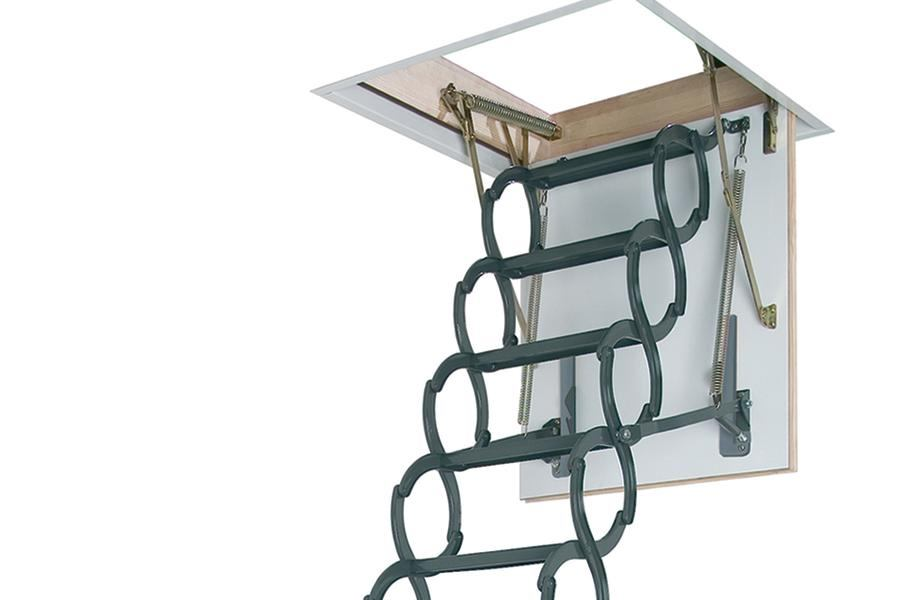 Heavy Duty Pull Down Ladder Jlc Online Staircases