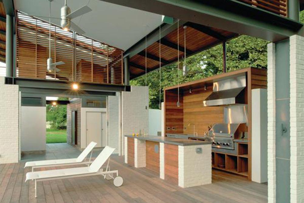 Design details outdoor kitchens builder magazine design kitchen landscaping karla greer - Design outdoor kitchen online ...