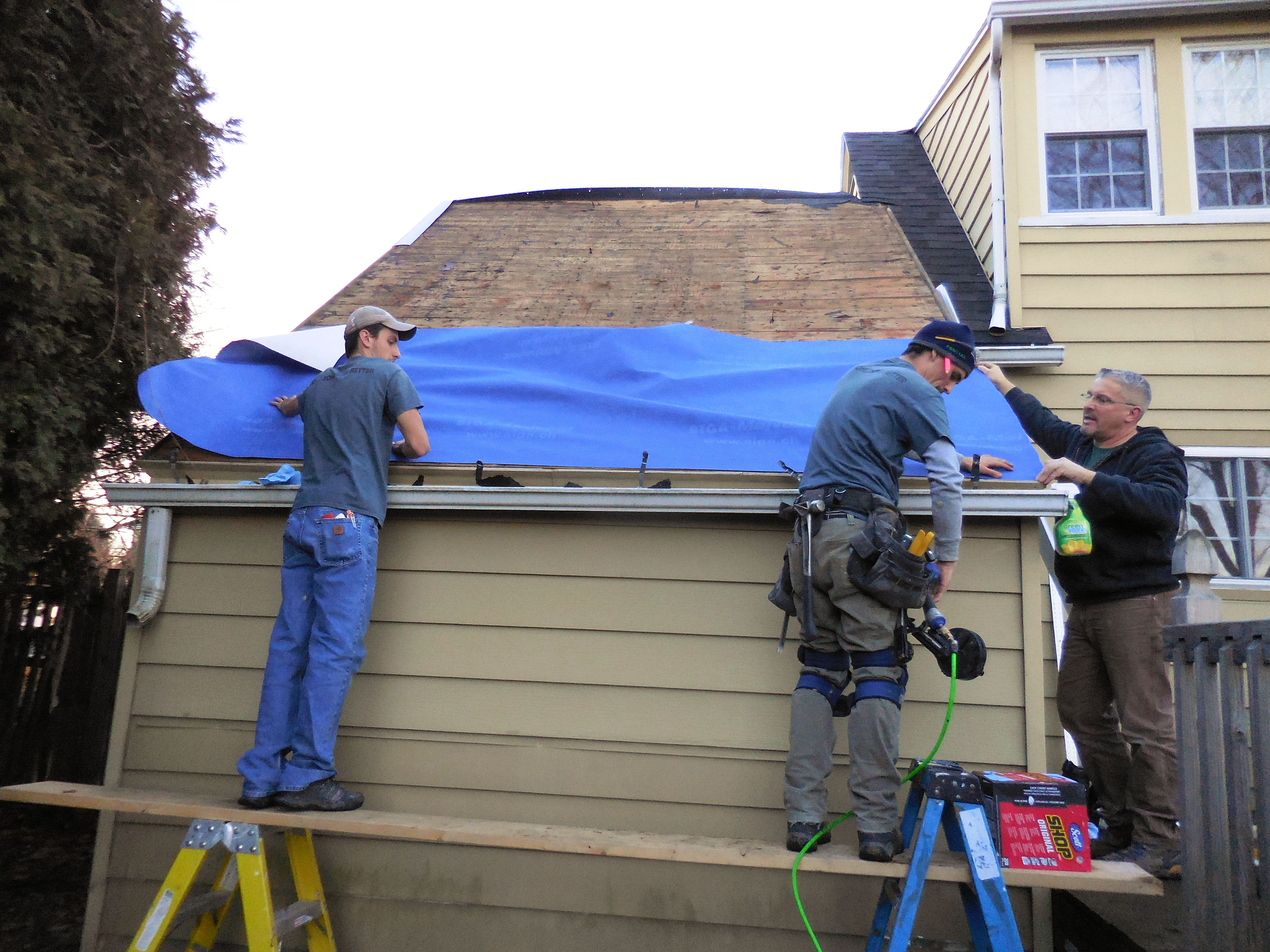 Fixing A Wet Roof Jlc Online Roofing Roof Underlayment
