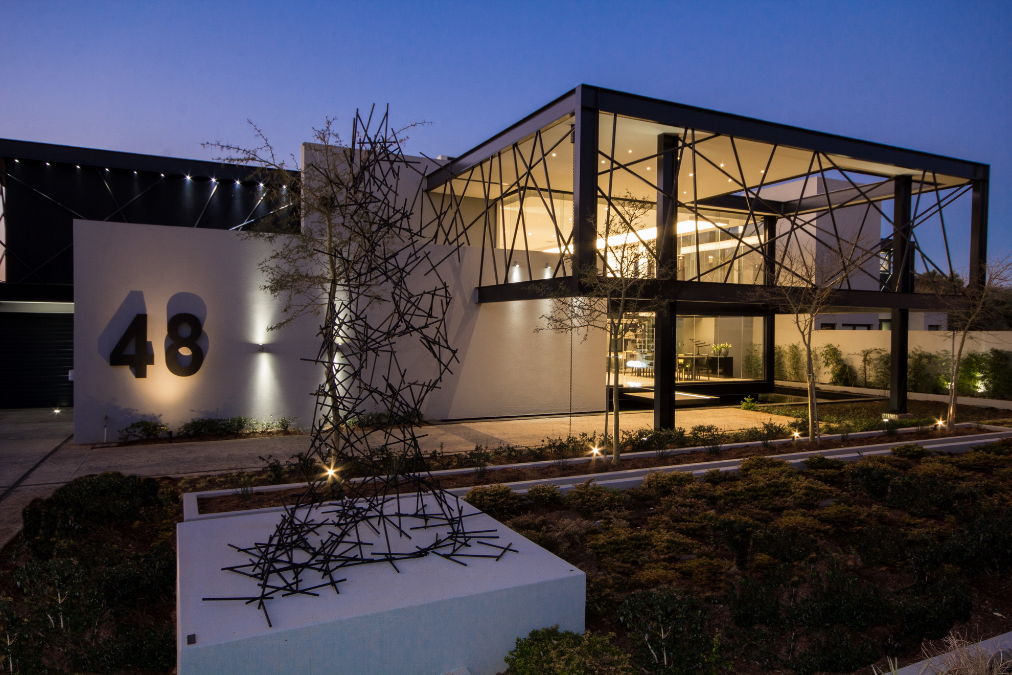 House ber architect magazine nico van der meulen for Design your house