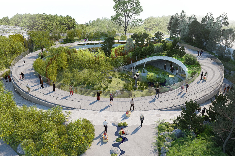 Panda house architect magazine bjarke ingels group for Big copenhagen