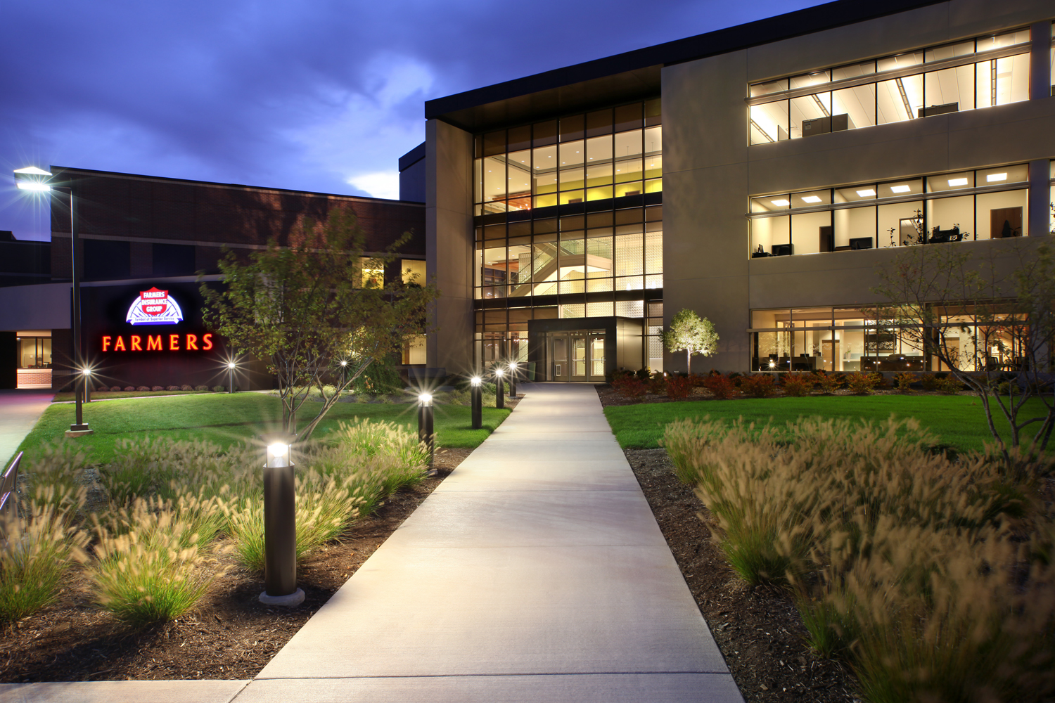 Farmers insurance training call center residential for Architects in grand rapids mi