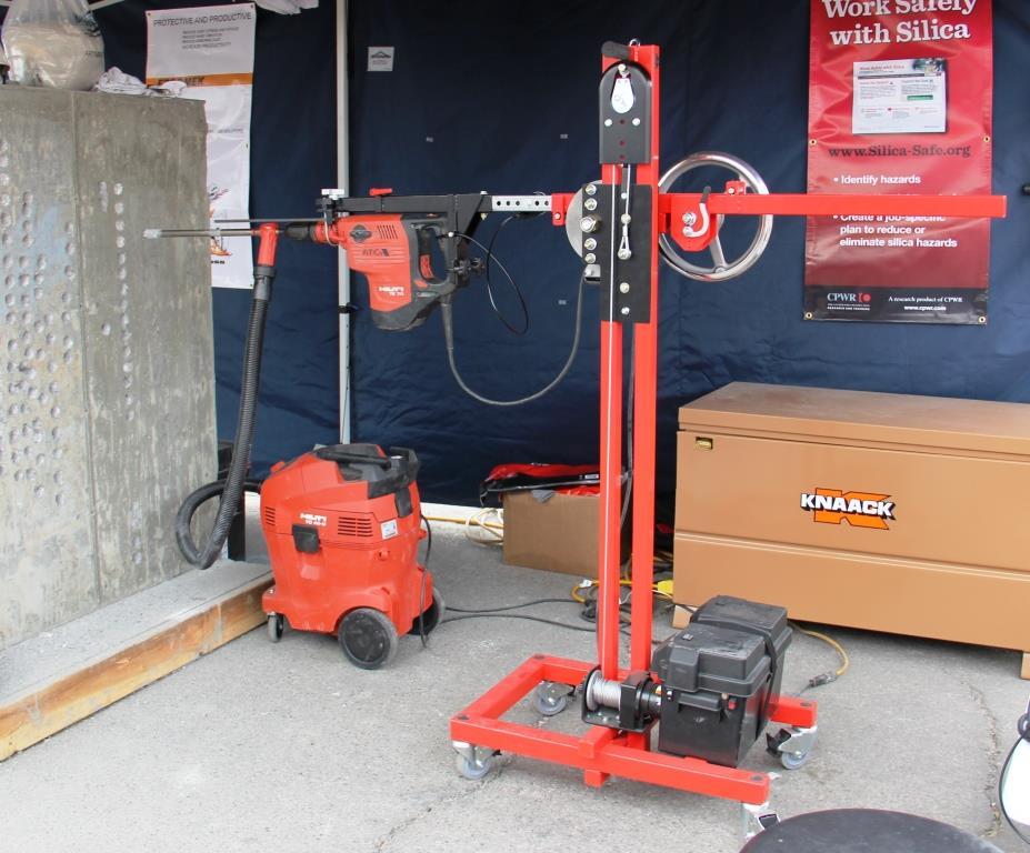 Ergomek Drill Boss Tools Of The Trade Concrete