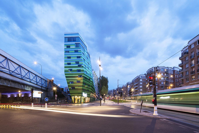 Hipark hotel in paris residential architect manuelle for Hotel im paris