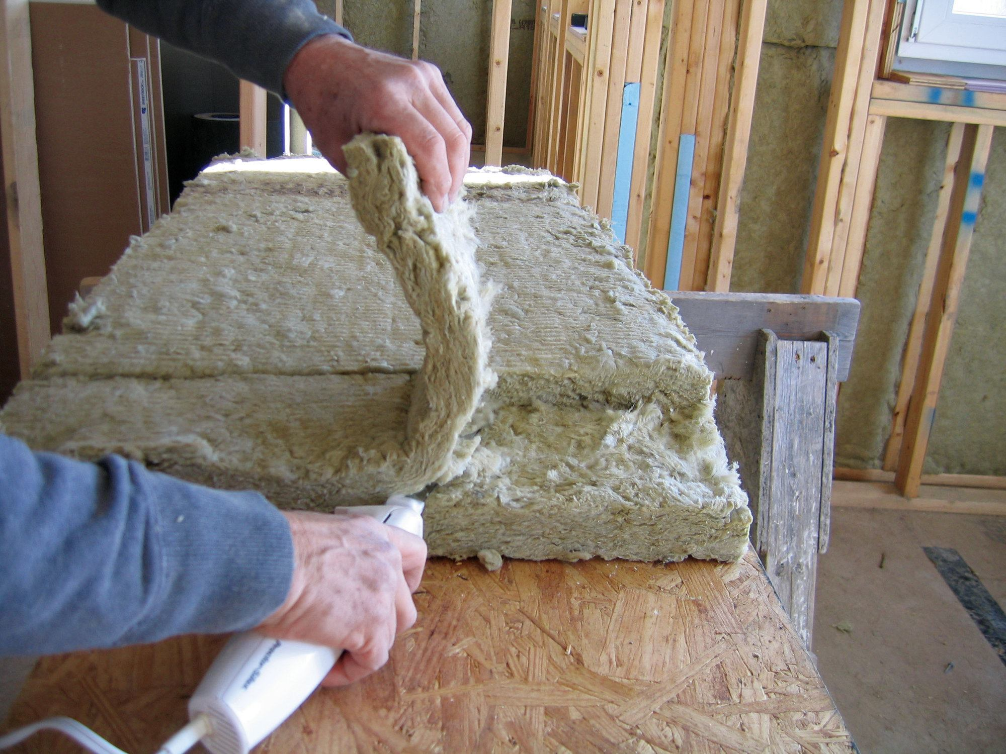 Working with roxul insulation jlc online for What is roxul insulation