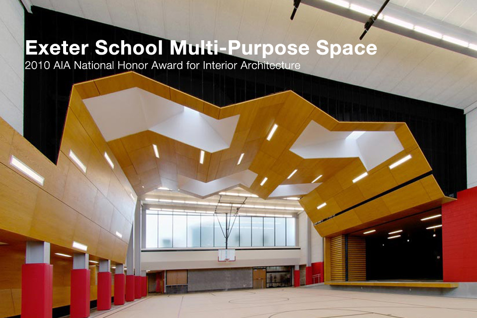 Exeter School Multi Purpose Space Architect Magazine