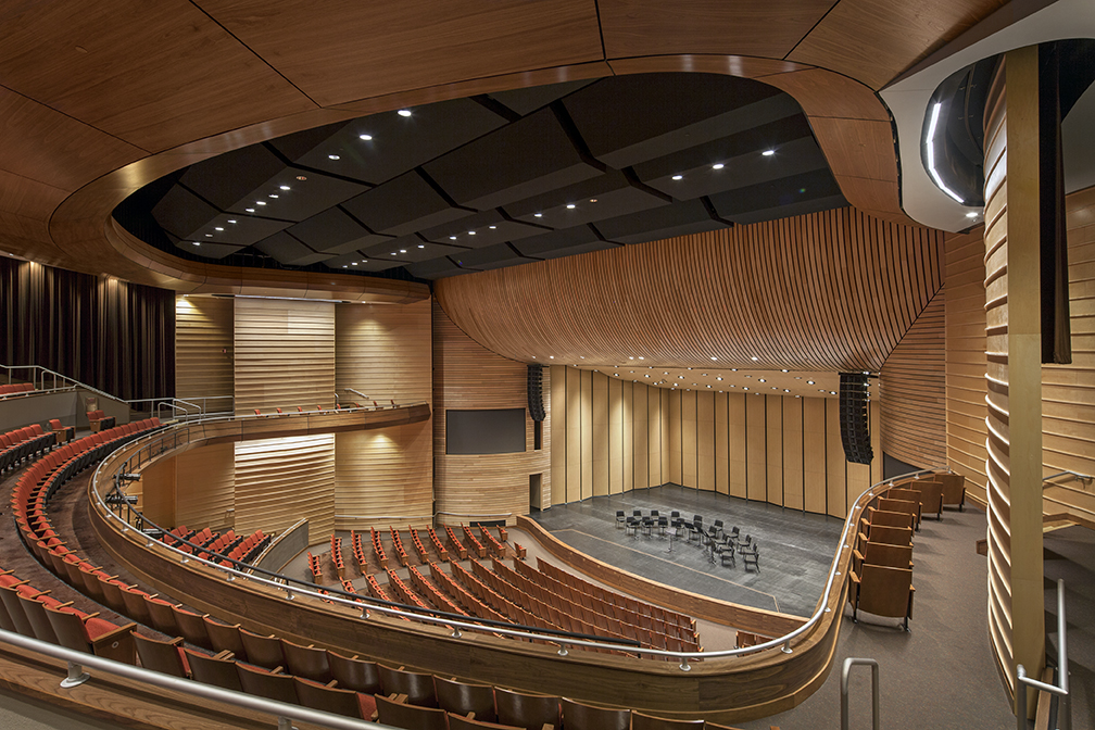 Austin isd performing arts center architect magazine - Interior design firms austin tx ...