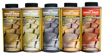 Liquid Cement Color Concrete Construction Magazine