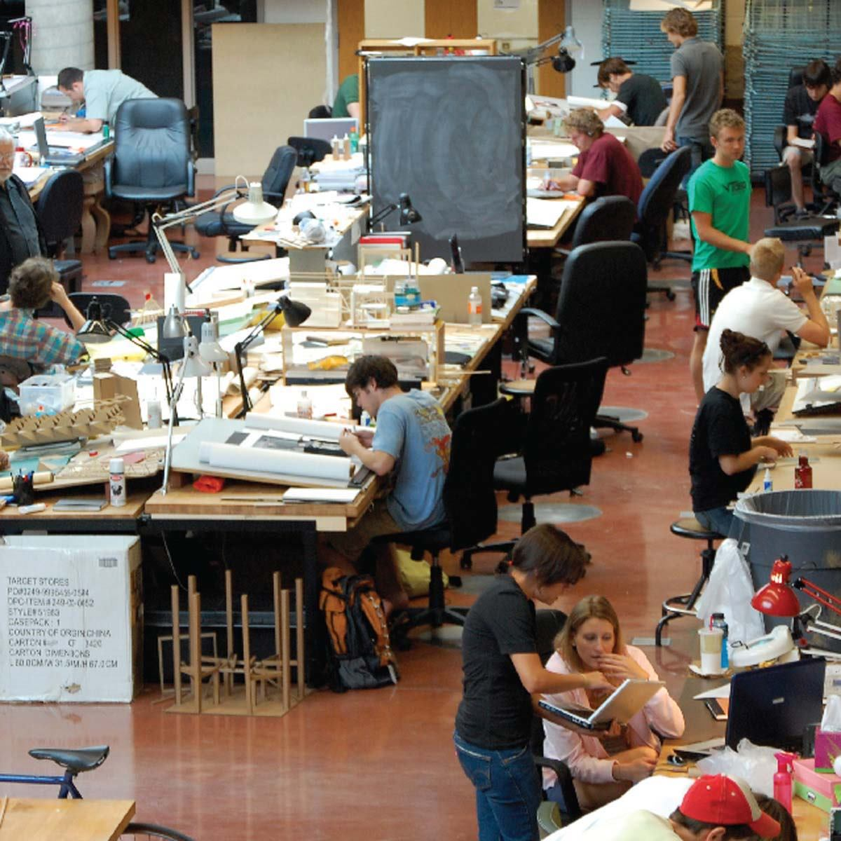 the top 10 undergraduate architecture schools in the u.s.