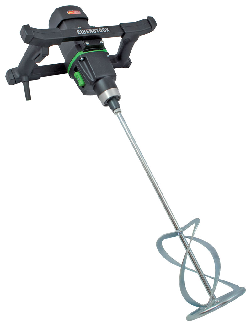 Drill Morter Mix : Hand held mixing drill with speed gearbox from cs unitec