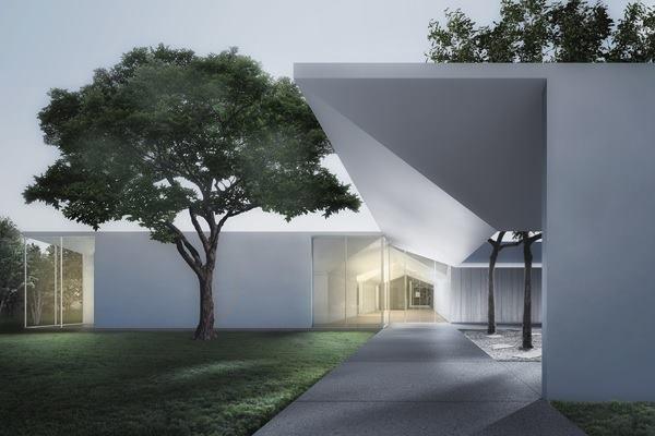 Menil Drawing Institute Designed By Johnston Marklee
