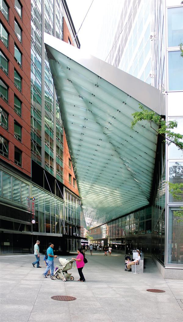 Arcade Canopy Goldman Sachs Architect Magazine