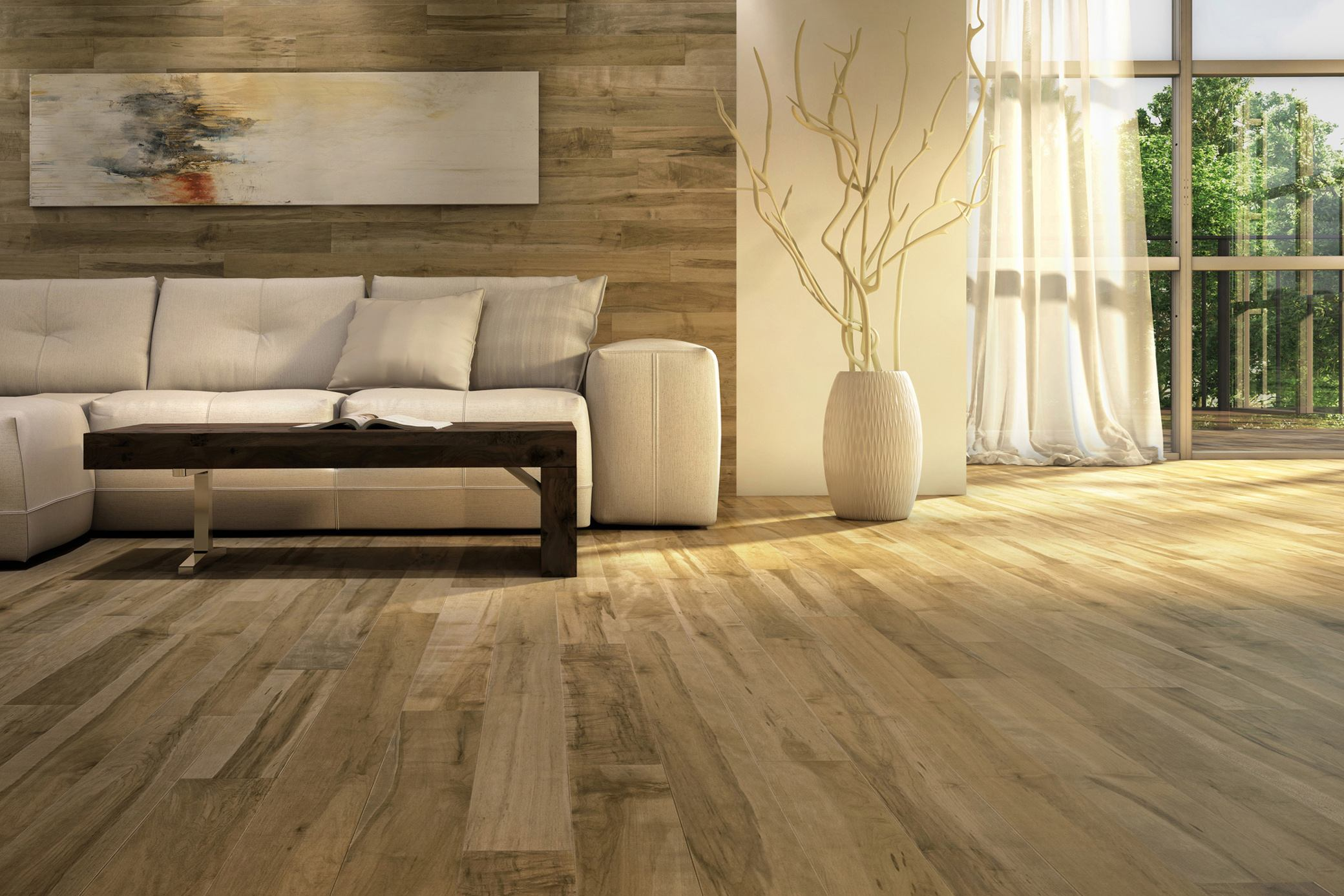 New line of hardwood flooring improves indoor air quality for Quality hardwood floors