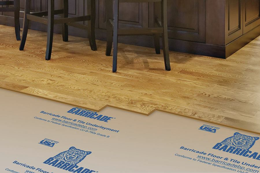 Barricade floor and tile underlayment jlc online for Floor underlayment
