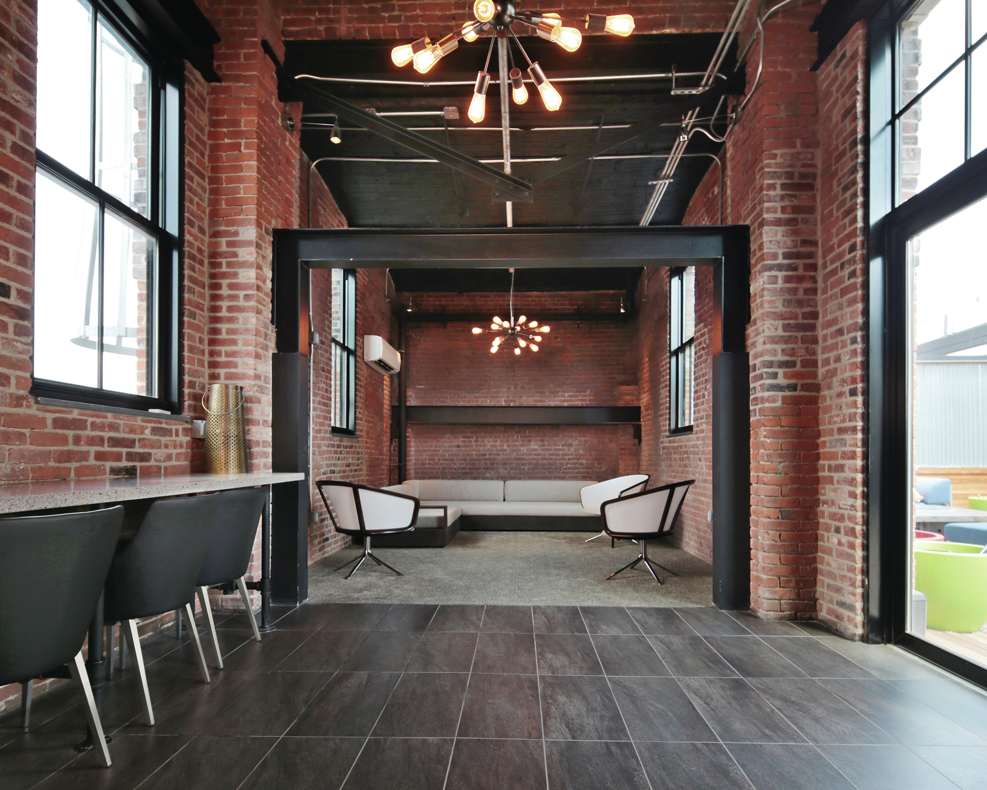 Loft Style Units Characterize This Revamped Warehouse