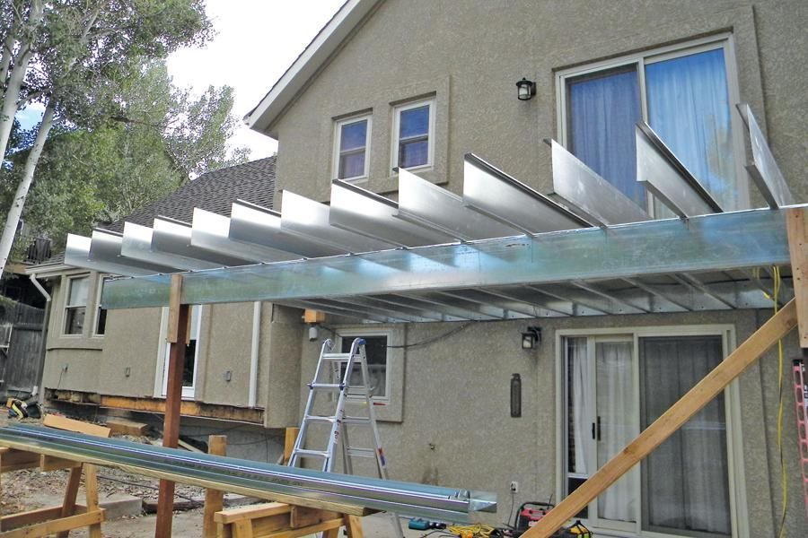 Framing Decks With Steel Joists Professional Deck