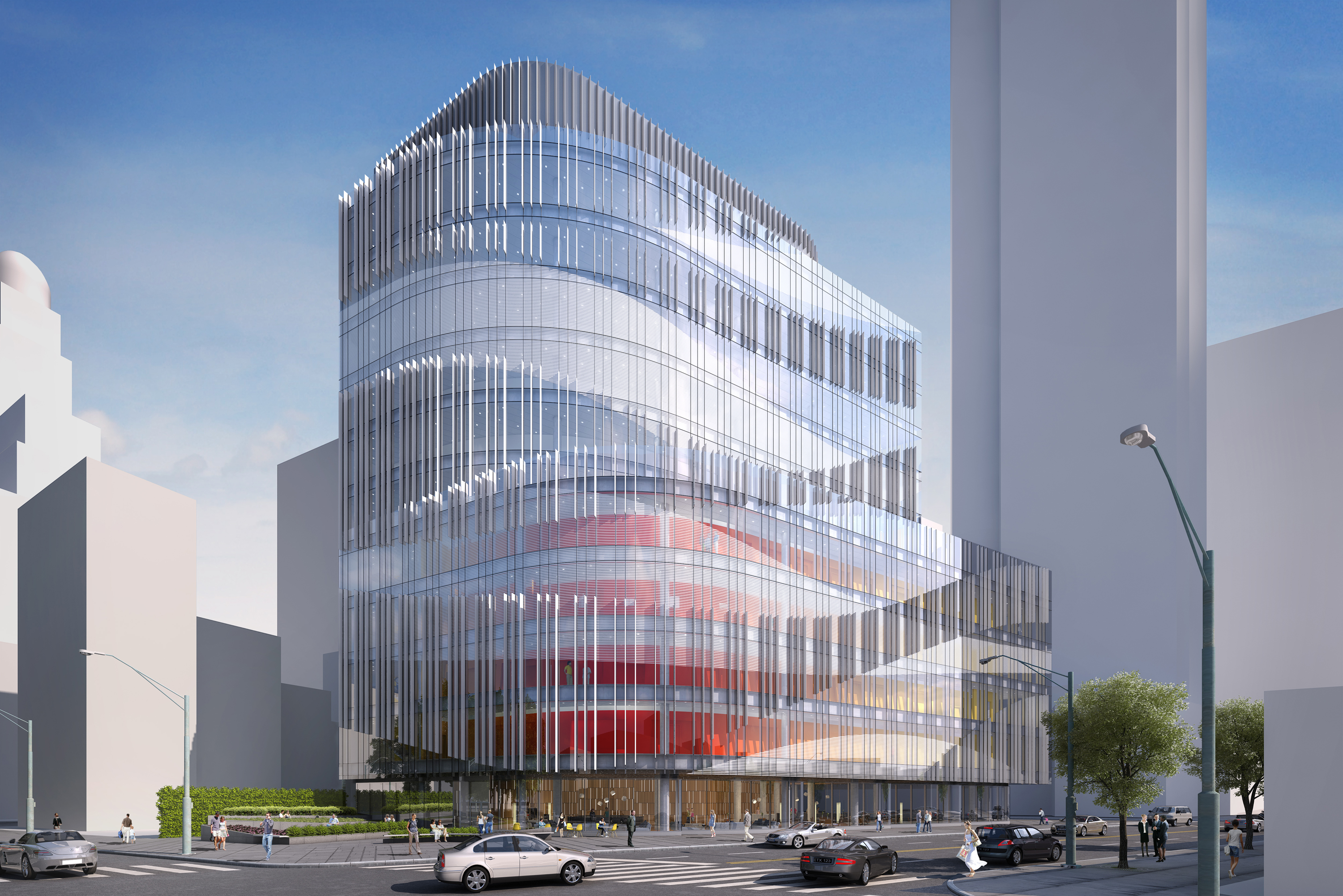 Brooklyn Health Center Architect Magazine Francis Cauffman Healthcare New Construction