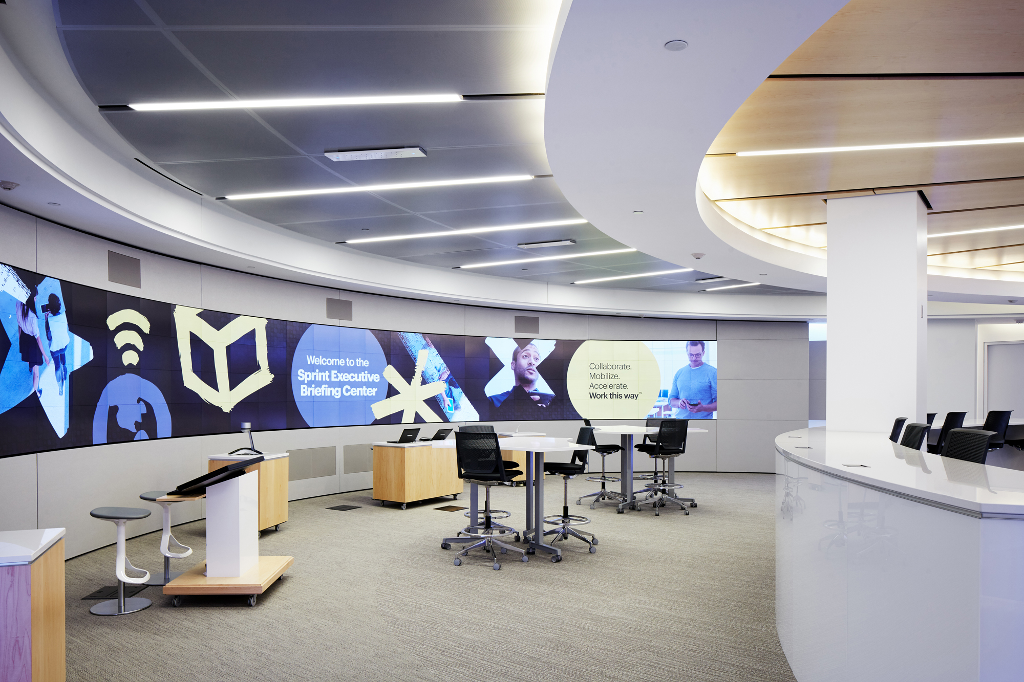 Sprint Executive Briefing Center Architect Magazine