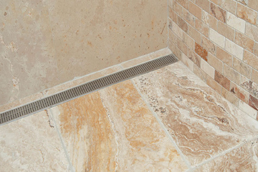 4 linear drain tips to remember remodeling shower bath plumbing drain entrapment drainage