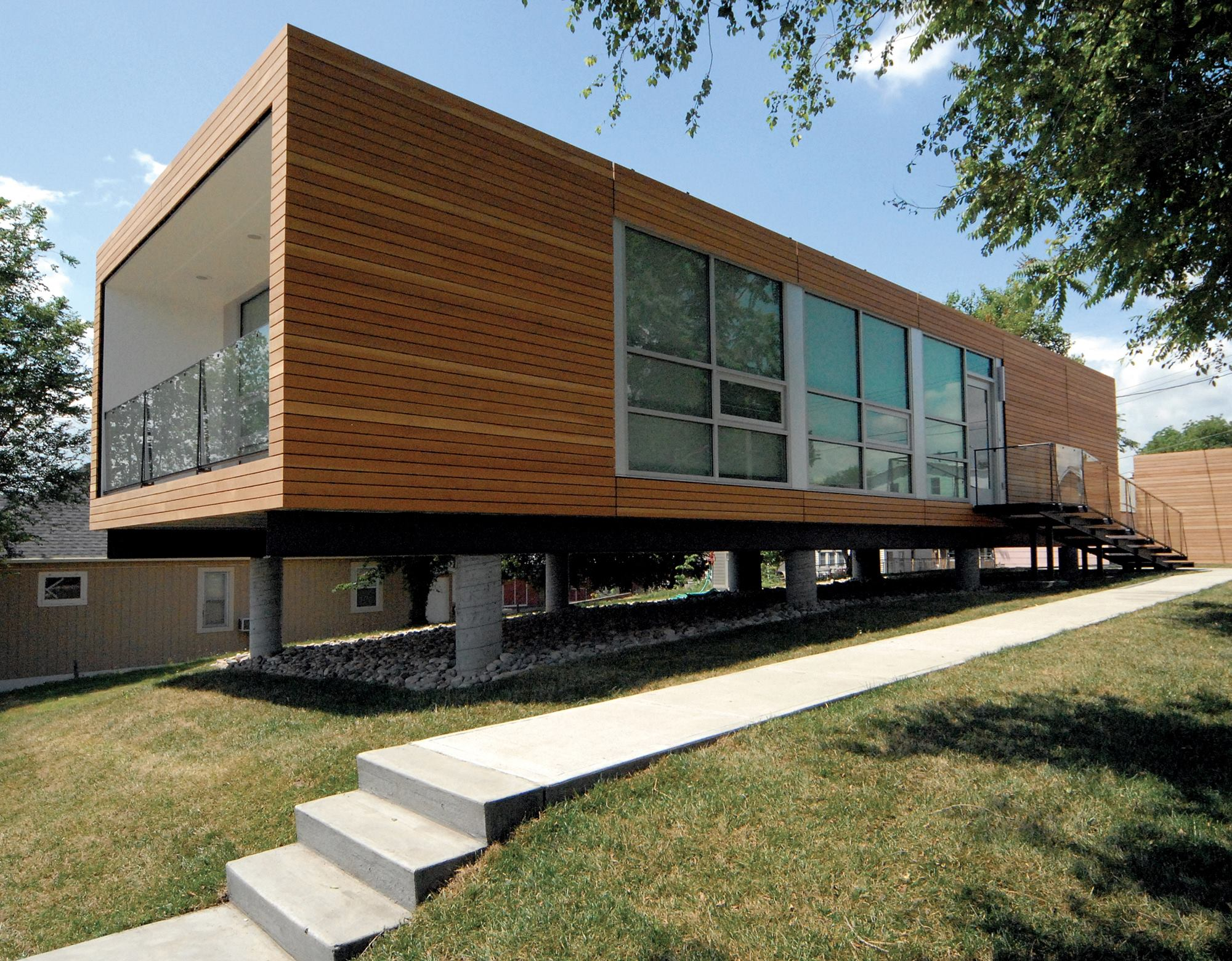 Modular 3 Kansas City Kan Residential Architect