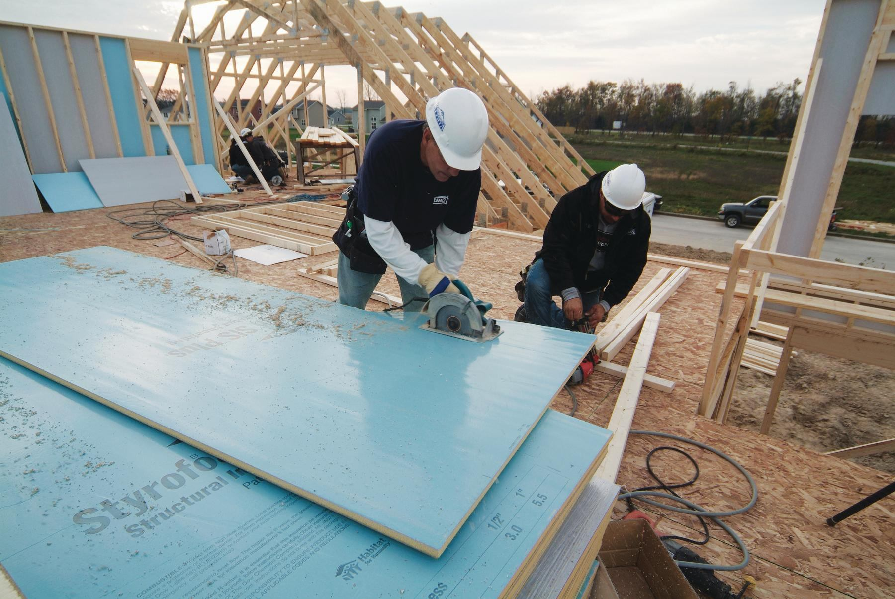 Structural Insulated Sheathing From Dow Ecobuilding Pulse