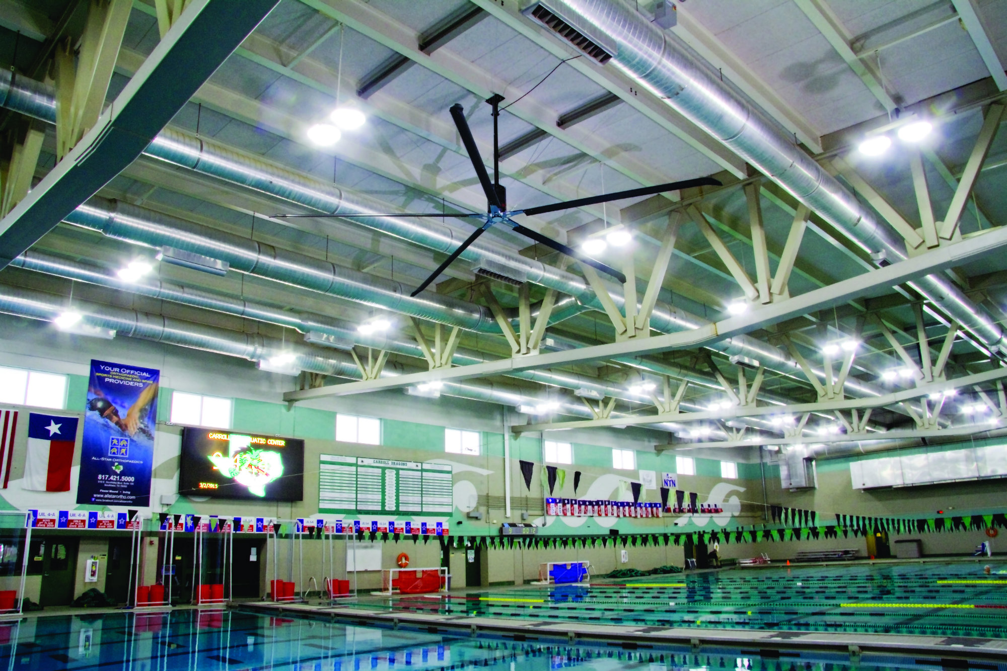 What Natatoriums Need To Know About Hvls Fans Aquatics