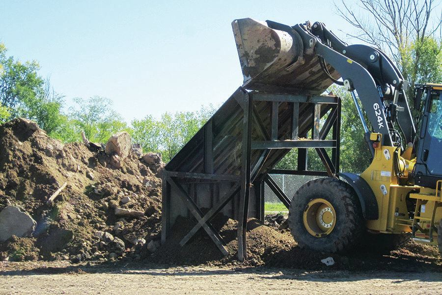 The Spoils Of Soil Recovery Public Works Magazine