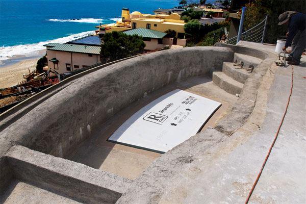 Waterproofing For Pools : Setting up the barricade pool spa news waterproofing
