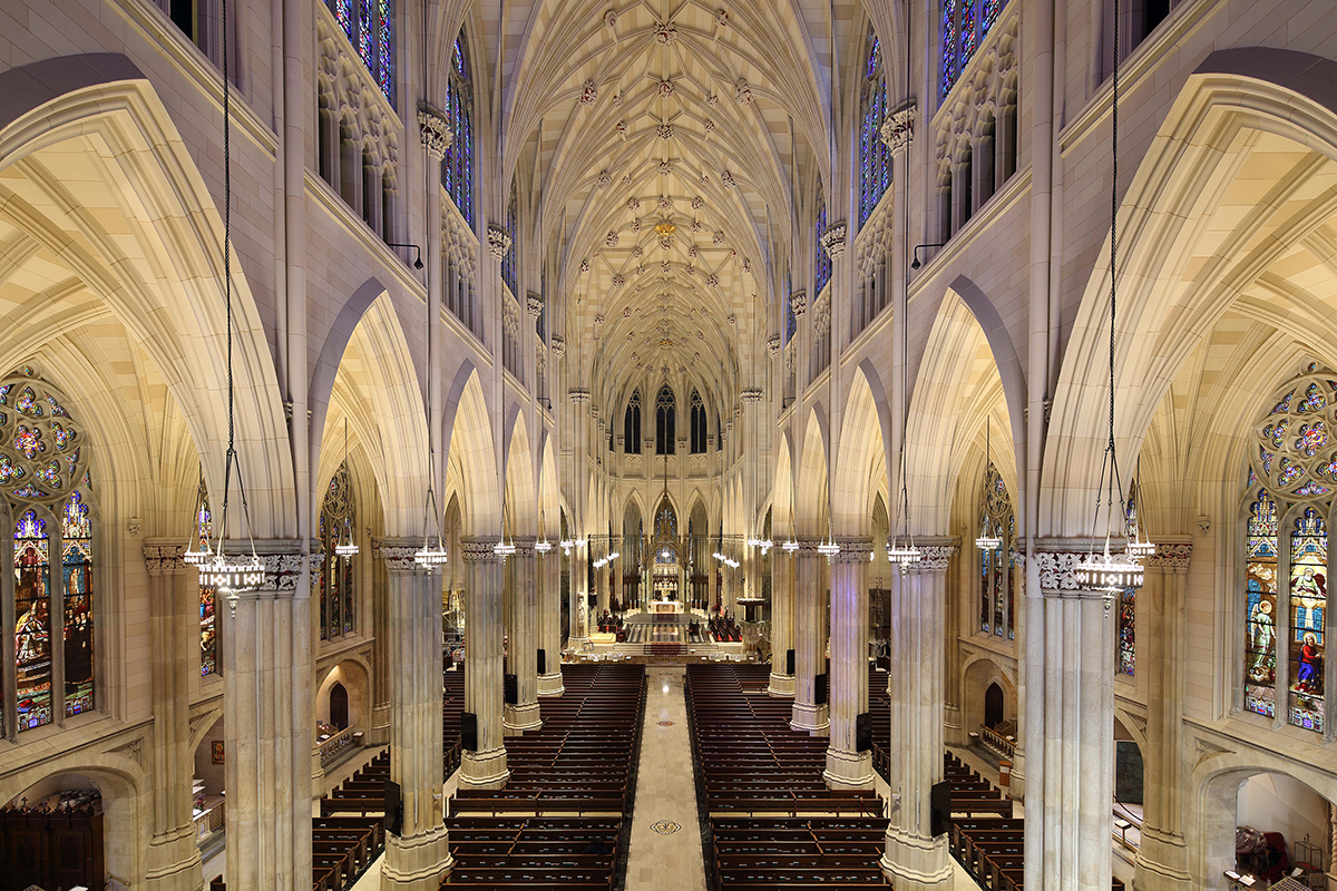 st patricks cathedral Telecare records our 7am weekday  mass and rebroadcasts the mass in the .