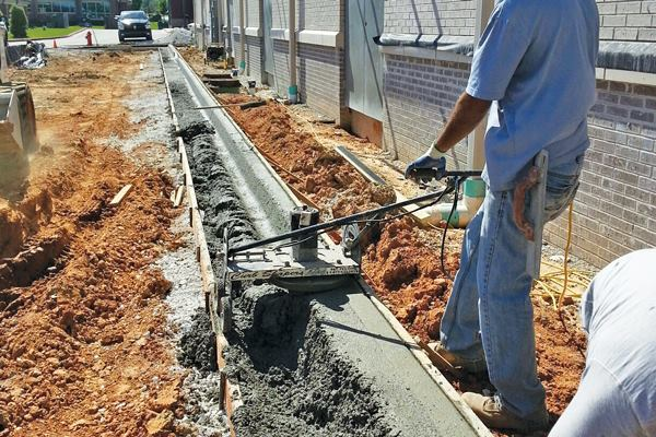 Curbing Equipment By Curb Shaper Concrete Producer
