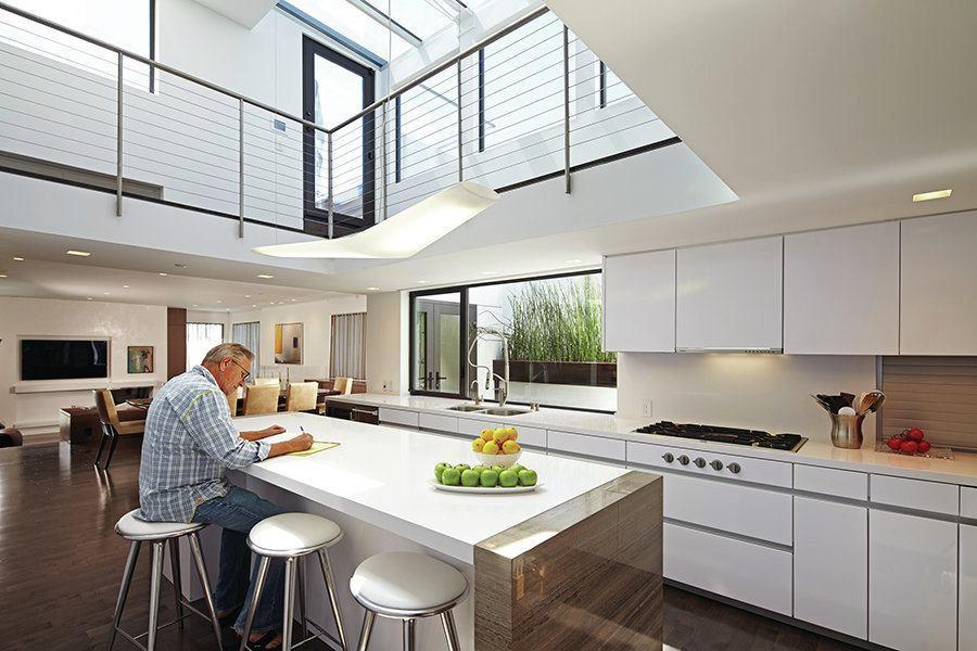 Perrin Fulmer Residence Manhattan Beach Calif Custom Home Magazine Award Winners Design