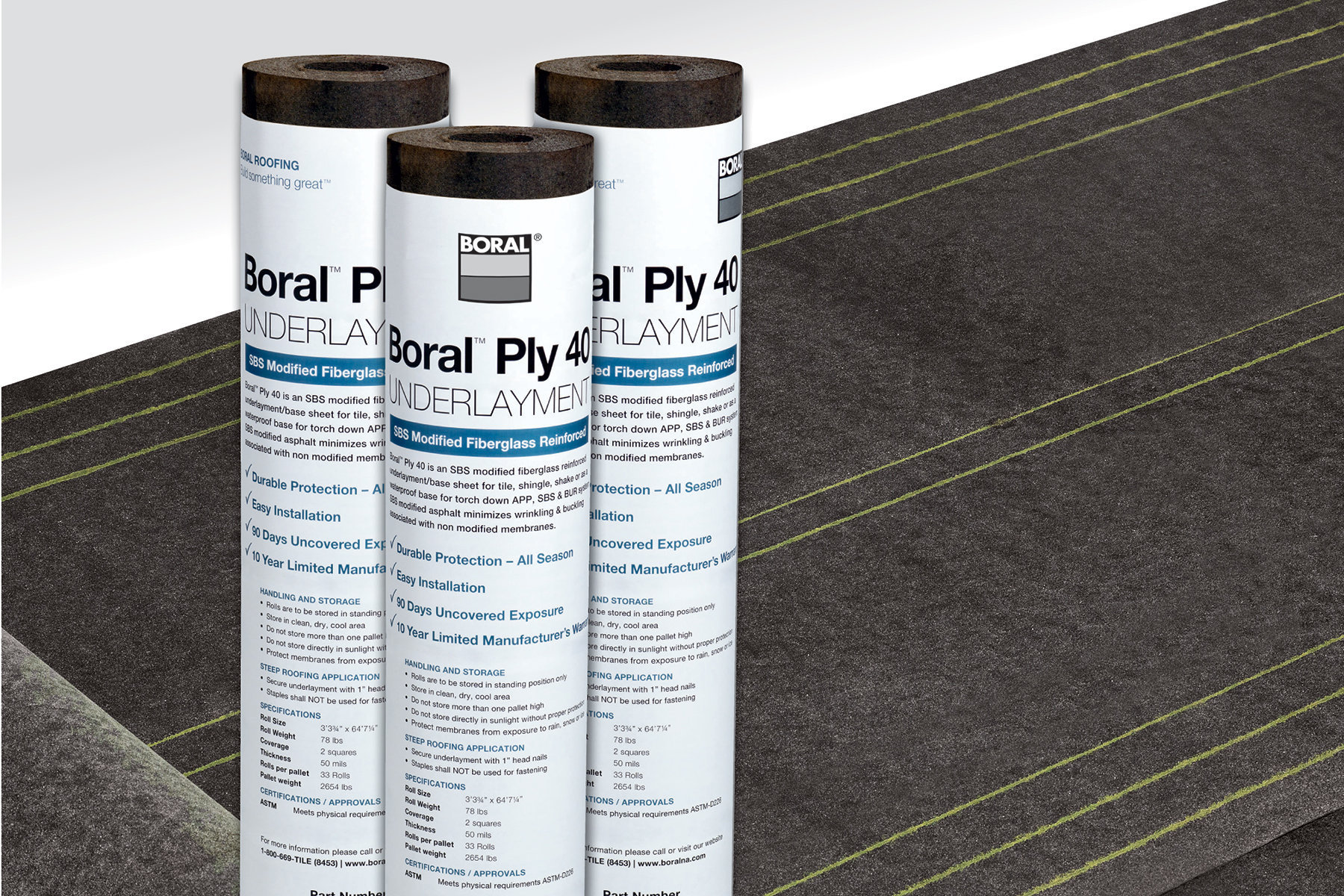 Boral S Ply 40 Underlayment Prosales Online Products