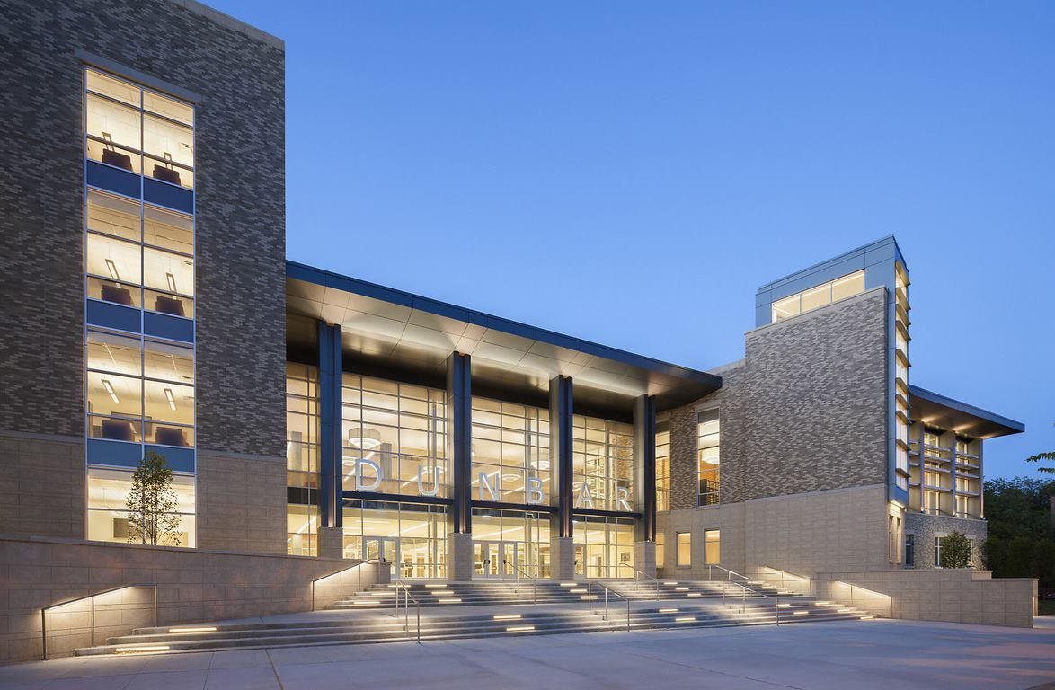 Washington D C S Dunbar Senior High School Achieves Leed