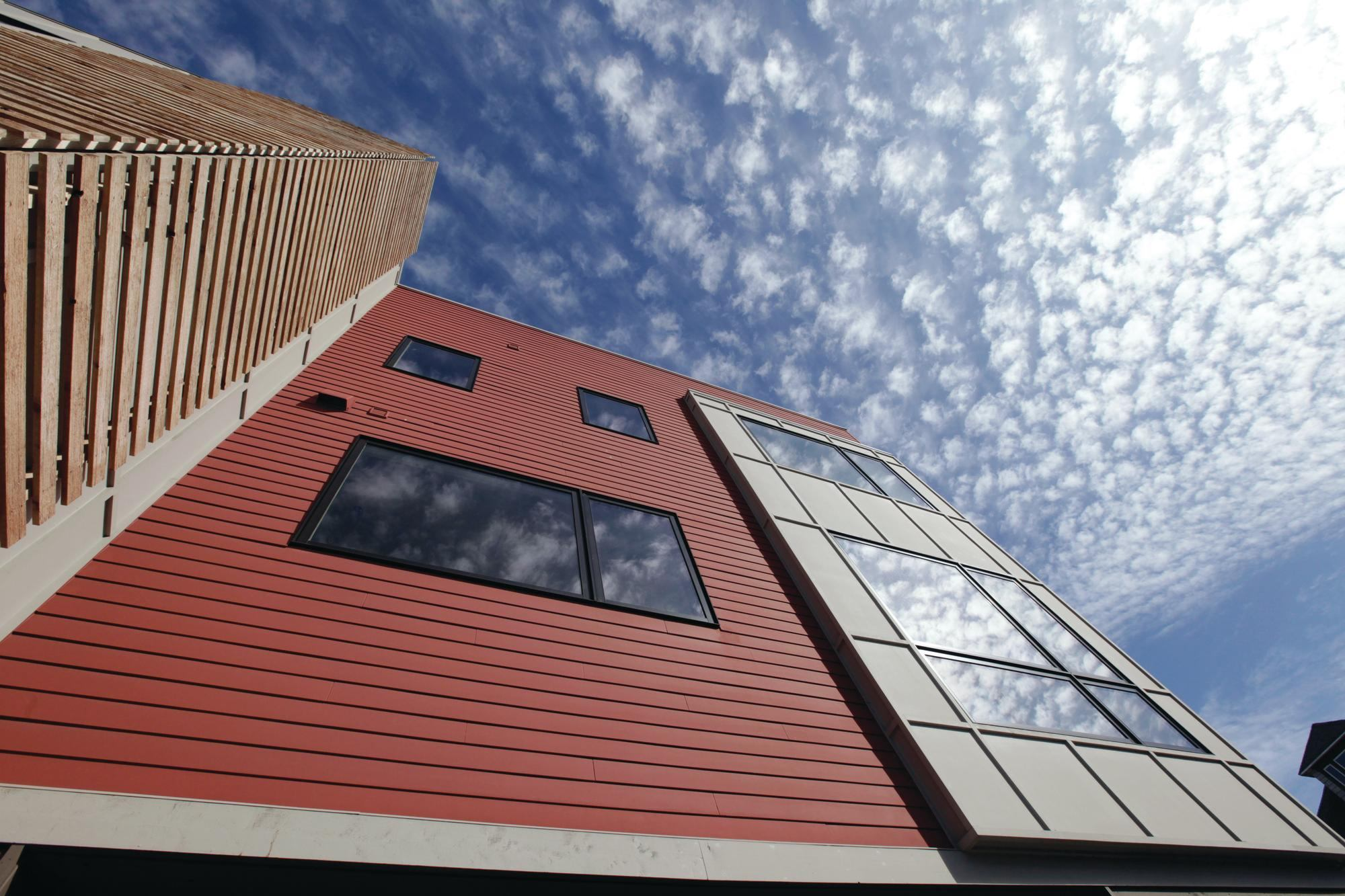Case Study Modern Townhomes Bring Sustainability To Urban
