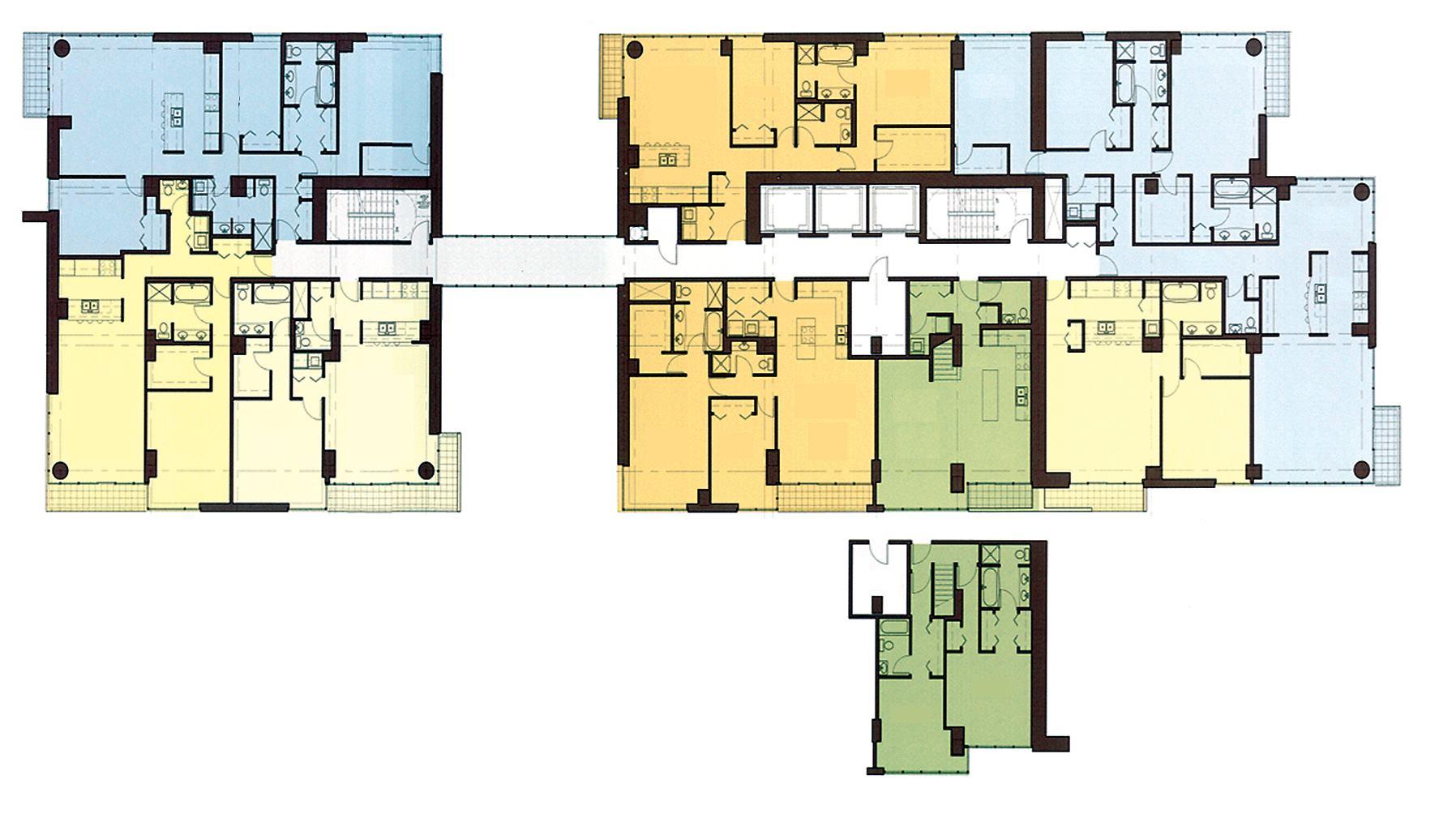 Skybridge chicago residential architect multifamily for Residential architect design awards