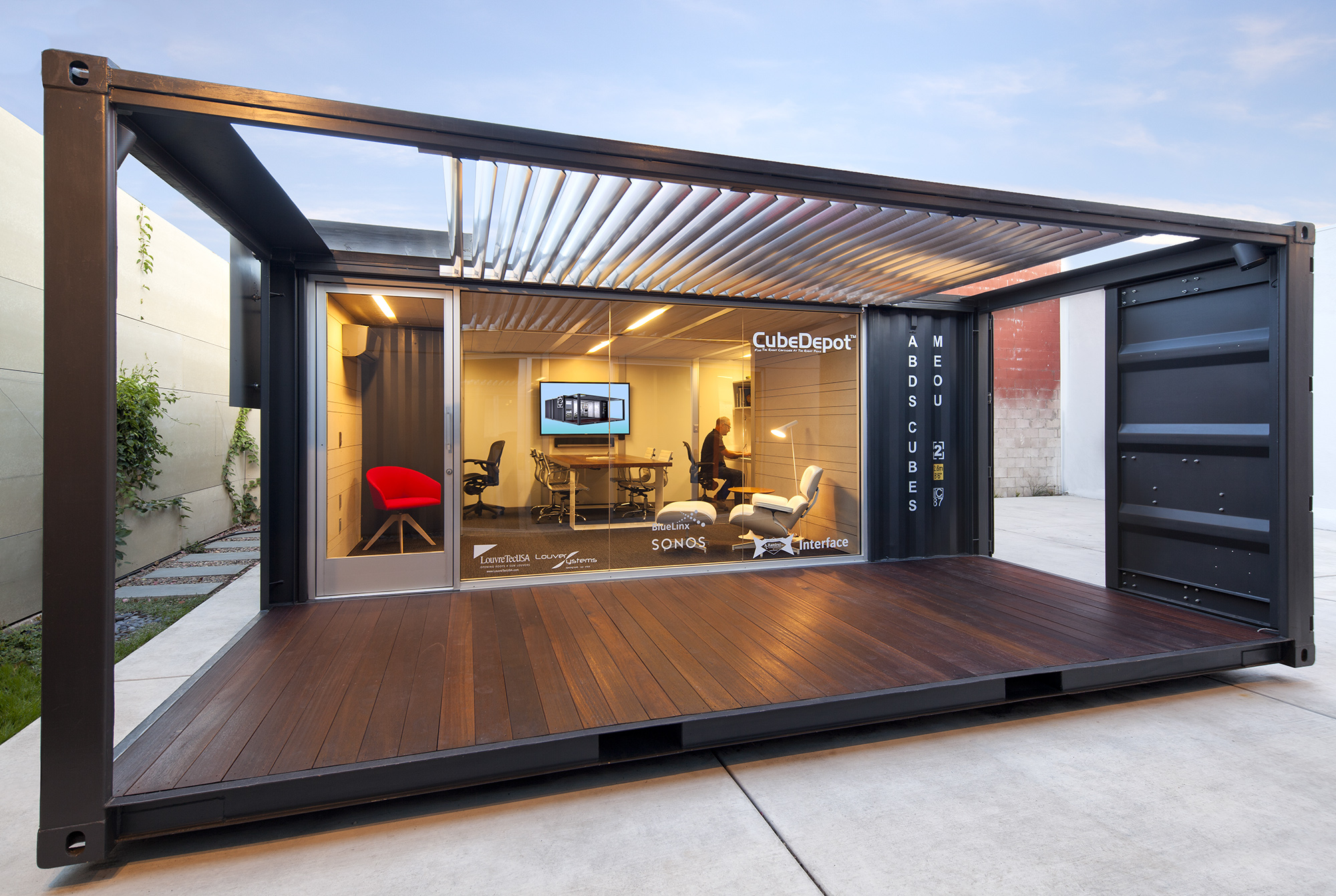 Me ou architect magazine ab design studio santa barbara calif workspace office new - Container homes alberta ...